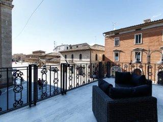 SUNSET HOUSE la TERRAZZA Una terrazza sull'Umbria, Santa Maria degli Angeli