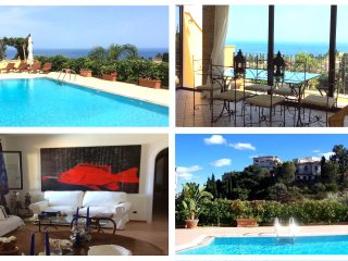 MATIS VILLA with Private Pool + Sea View Terrace Taormina