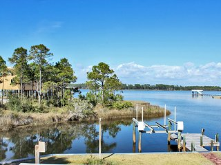 Vacation waterfront home in Gulf Shores , Alabama. The Tiki house