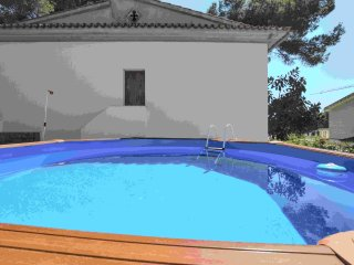 Beach house with pool el Arenal, S'Arenal
