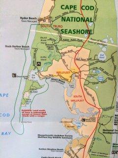 Swim, kayak, walk (low-tide)or drive to Great Island, Cape Cod National Seashore
