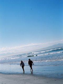 Excellent beach walks, Muizenberg & Kalk Bay.
