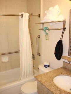 A single bathroom