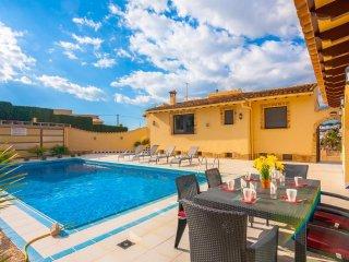 Villa Freedom en Teulada-Moraira,Alicante,para 6 huespedes