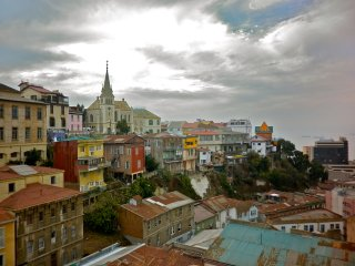 Independent apartments in downtown of valparaiso secure and safe full
