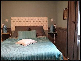 Chambre dans belle maison d'hôtes normande, baie du Mont Saint-Michel, Saint-James