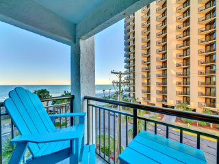 "Oceanfront Long Bay Resort End Condo/Marbletile/Xboxone/60""TV/Sleeps6/Freeputput, Myrtle Beach"
