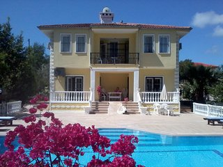Villa Dessanelle with large private pool, flower garden, wi-fi, Ovacik