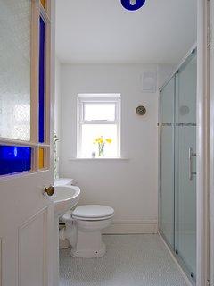 Bathroom with dou