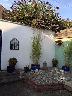 Town patio garden