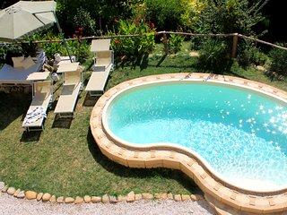 La Rupe del Falco: nature, swimming pool, relax