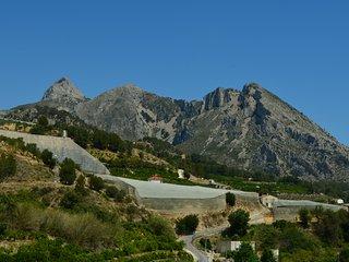 Casa Azul  Stadthaus mit Garten und Dachterrasse in malerischer Bergkullisse!