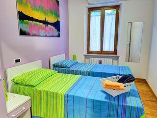LASKA  Camera doppia, ad uso matrimoniale, dotata di tutti i comfort. (Bagno privato esterno)