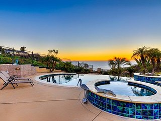 Elegant, gated home, with pool, jacuzzi & stunning sunset views!