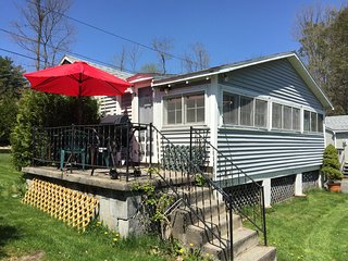 This is our smaller, quaint cottage. Great for families and couples. Full kitchen and grille too!