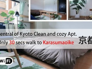 Cozy Apt at Kyoto Ctr. 1MIN->Sta.#7