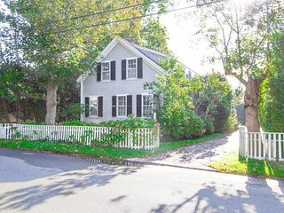 POLLE - Edgartown Village Location, Exquisite Decor, Private Patio and Yard, Cen