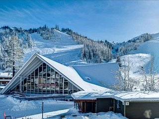 Premium View * Direct Ski-in/Ski-Out Premium View 2bd/2bth in Village Squaw