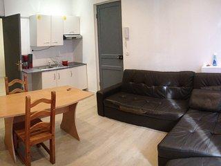 APPT 2 pieces bien meuble Location courte duree