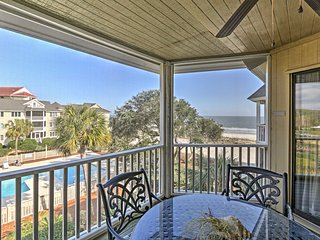 'Island Retreat' Isle of Palms Condo in Wild Dunes w/Sports Card!