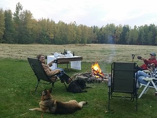 Enjoy a bonfire when provincial fire index conditions are 'green'