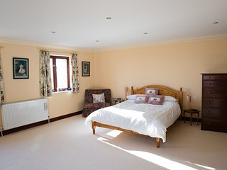 Spacious Double Ground Floor Room with EnSuite in stunning country house, Ivybridge