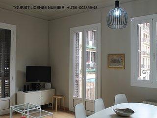 Heart Gràcia 3 bedrooms Wifi - HUTB 002855-48