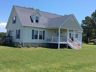 A waterfront vacation rental located on the Chesapeake Bay