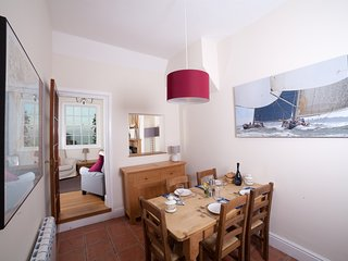 The dining room, a great place to recount the day's adventures over a family meal