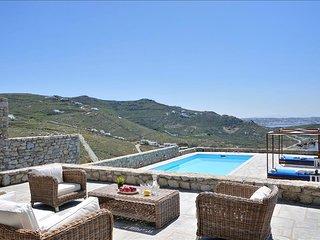 Mykonos - Gv - Villa Daphne with pool sleeps 10