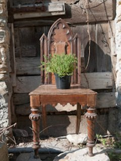 old convent chair