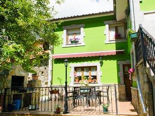 casa rural con terraza, Sobrefoz