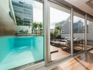 W01.415 - 4 Suites penthouse - Leblon, Rio de Janeiro