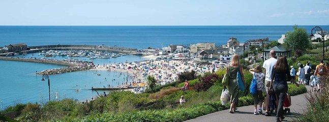 Lyme Regis, The Cobb.