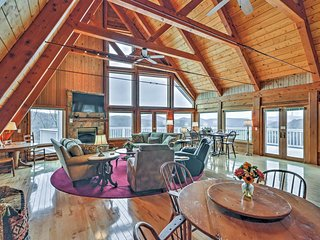 5,000 sq ft Banner Elk Home w/ Panoramic Mtn Views
