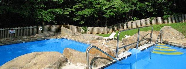 Pools at Cobbly Knob - open seasonally, usually Memorial Day to Labor Day
