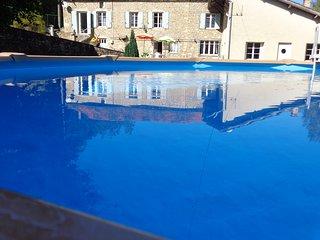 House with private pool, Saint-Cernin-de-l'Herm