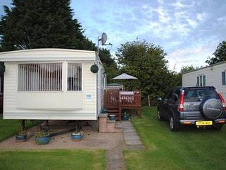 2 bedroomed centrally heated caravan, Skipsea