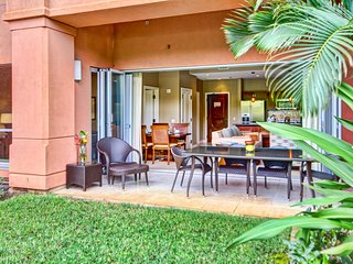 Maui Resort Rentals: Honua Kai Konea 136 – Ground Floor 1BR w/ Lawn Area + Easy, Lahaina