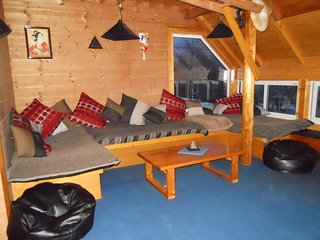Hooting Owl Lodge available from March till November
