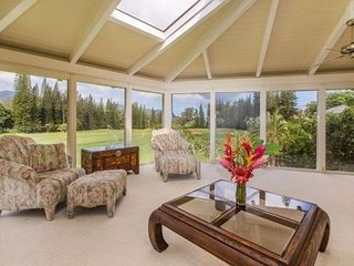 KING HALE / BEAUTIFUL GOLF COURSE HOME, Princeville