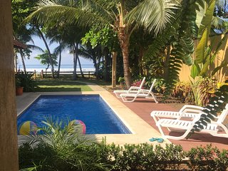 Beachfront Ocean Unit in Casa Bejuco Ay Bonita . . . a beautiful retreat!