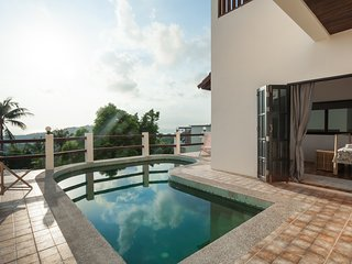 3 BR Sunset View Pool Villa, Koh Tao.