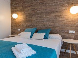 Apartamentos de dos habitaciones dobles vista mar en Menorca