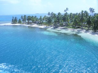San Blas Panamá charter in catamaran Cush Guna Yala