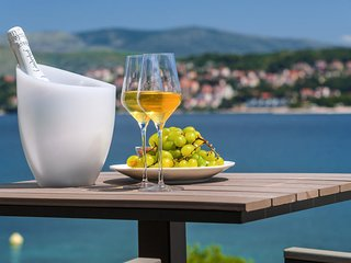 Luxury Villa Trogir II by the beach with outdoor & indoor pool, jacuzzi, gym