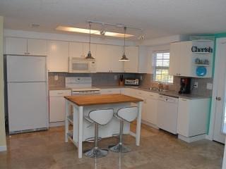 Kitchen with Sit Down Island