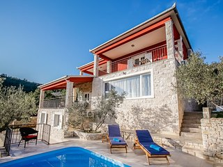 Luxury Villa My Korcula - Korcula - Prigradica, with pool and seaview