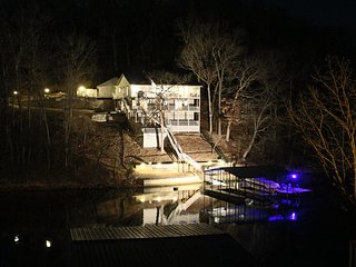 This lake side destination is fun, functional, and relaxing for the whole family., Lake Ozark