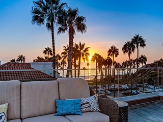 March-April Special $249/night! Luxury, Ocean View Beach Condo Just Steps to Beach and Pier in Pier Bowl!, San Clemente